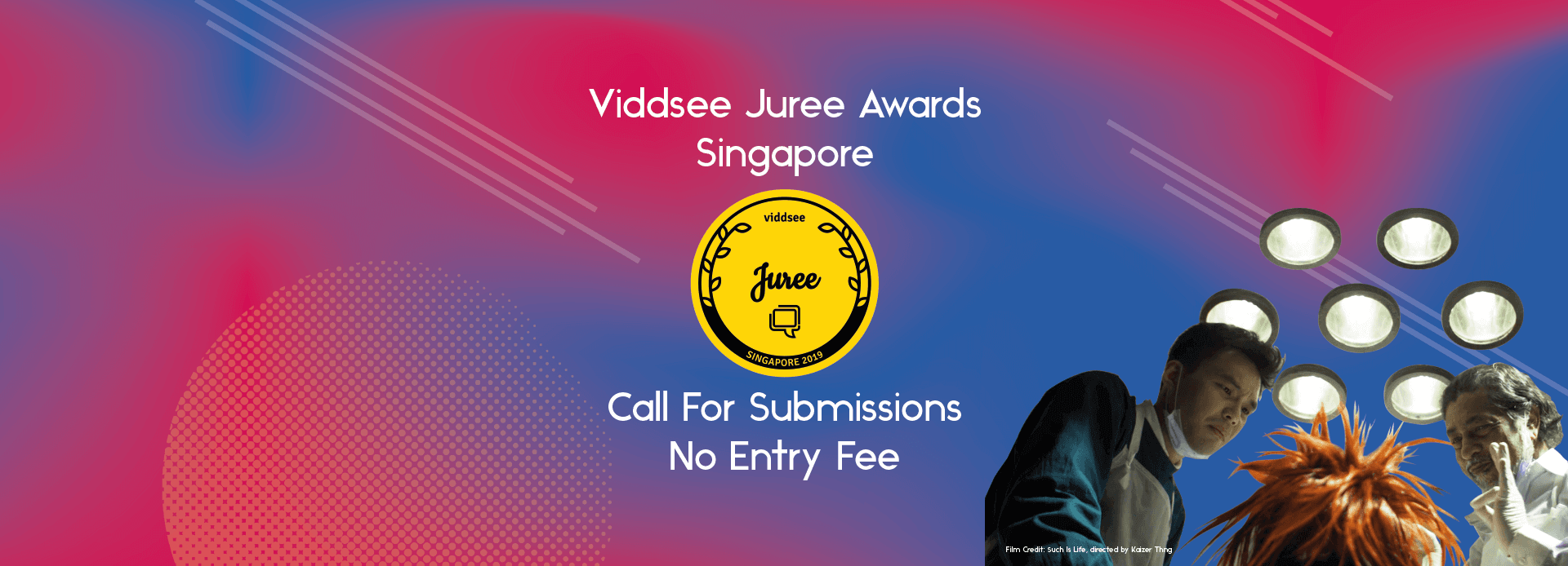 Viddsee Juree Singapore 2019 Submissions Guidelines | Viddsee