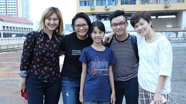 producer Ser En, director Mei Ann, with actors and actresses Jaime, Andre and Yann Yann on set.jpg