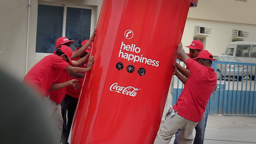Happiness Machines by Coca Cola in Dubai Still 3