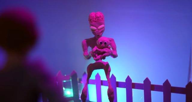 Alien Claymation Lee Hardcastle ss1 krk