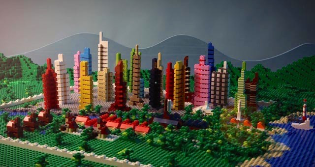 Lego Adventure In The City ss2 krk