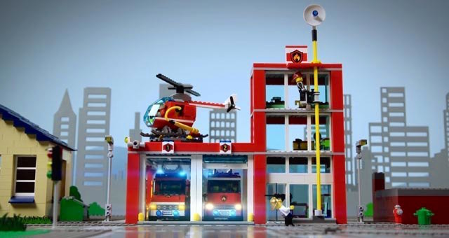 Lego Adventure In The City ss3 krk