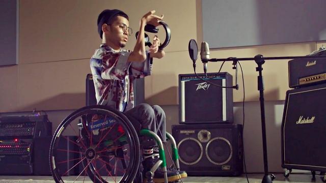 wheelchair bound rapper